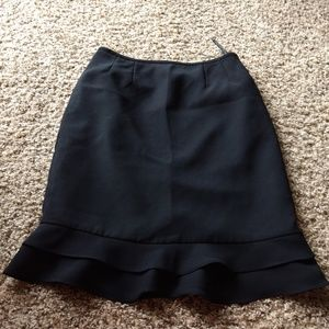 Dresses & Skirts - Great Pencil Skirt With Double Ruffles